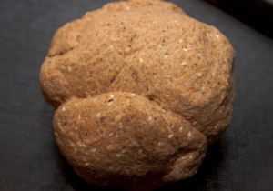 Dough Ball, everything seasoning mixed in